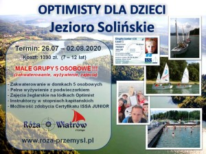 Optimisty Solina 2020
